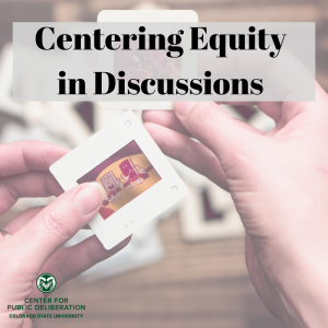Centering Equity